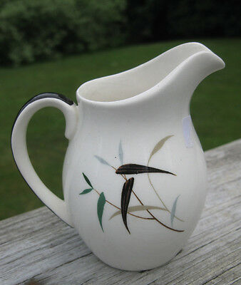 Vintage Royal Doulton BAMBOO Pattern Small Cream Pitcher