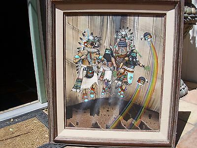 "Duane Dishta Original oil Painting.frame 27"" x 31"".image 19"" x 23"""