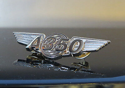 WINGS AIRBUS A350 Wing Pin Golden for 350 Pilots Crew 55mm