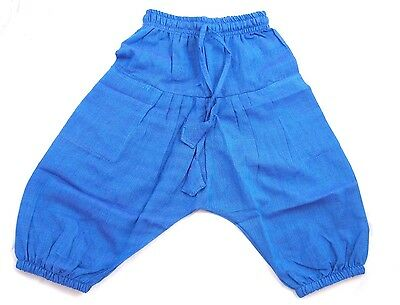 Kids Fairtrade Children's Harem Trousers Girls/Boys Hippie Festival Clothes Baby