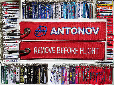 Keyring ANTONOV Remove Before Flight AN-124 AN-225 AN-2 Russia