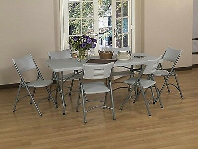 Good Table Portable Plastic Indoor Outdoor Picnic Party Dining Camp Tables