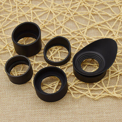 5 Sizes Binocular Rubber Eye Cup Eye Guard Eye Shield Microscope Telescope