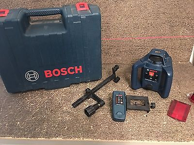 Bosch GRL 240 HV Self-Leveling Rotary Laser Level Kit With Case