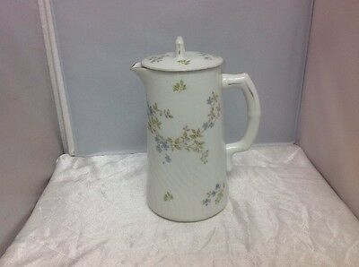 Antique Imperial Karlsbad China Coffee / Tea Pot Floral