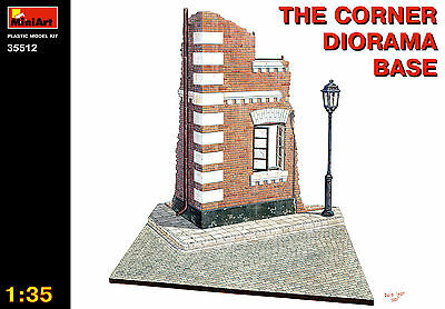Corner diorama base     1/35 MiniArt  # 35512