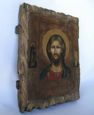 Handmade copy ancient ORTHODOX CHURCH ICON Jesus Christ The Lord Almighty 140M