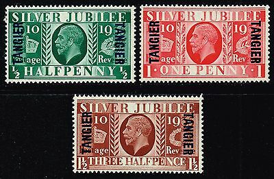 Tangier 1935 Silver Jubilee, MH (SG#238/240)