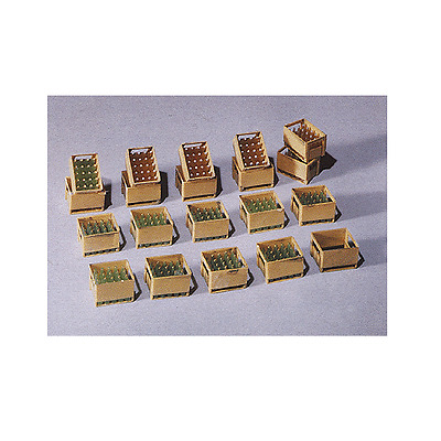 Pola G Scale 1/22.5 Beer Crates With Bottles Kit | Ships From Usa | 331877