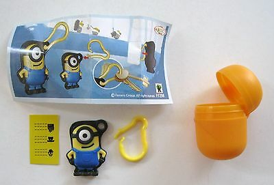 2015 KINDER SURPRISE Limited Edition MINIONS Toy w/Checklist & Egg NO CHOCOLATE
