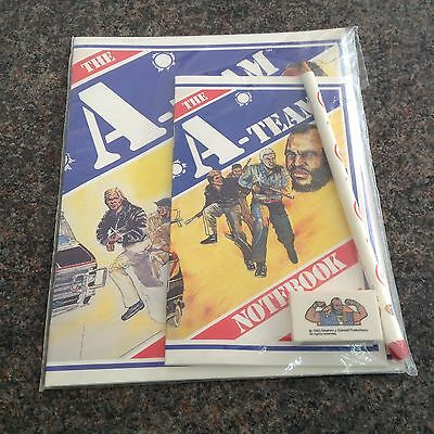 The A Team Stationary Set - New And Unopened