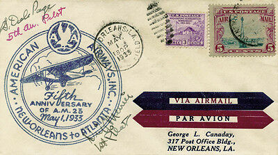 Dick (Henry T.) Merrill - First Day Cover Signed Co-Signed By: Dale Page