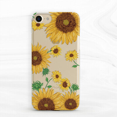Van Gogh Flower Sunflower Floral Silicone Case For iPhone 7 8 Xs Max XR Plus 6s