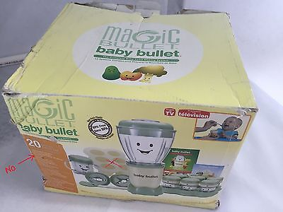 Magic Bullet Baby Bullet Food Making System  Storage NEW