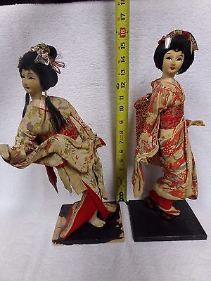 antique Geisha girl dolls 16 inch