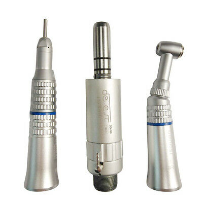 Dental 2Hole Slow Low Speed Handpiece Straight Contra Angle Air Motor for E-Type