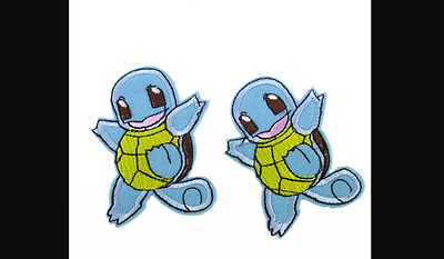 Squirtle embroidery patch Size: 57 x 70MM Iron On Pokemon (1 patch)