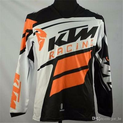 Brand-Hot man style off road MTB KTM MX DH Breathable bicycle cycling jerseys