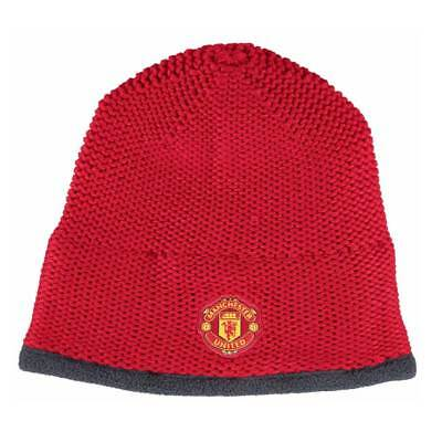 ADIDAS Manchester United Knitted Beanie [Red]