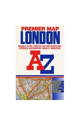 A-Z Premier Map of London by Geographers' A-Z Map Company Sheet map, folded The