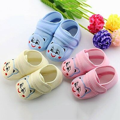 Infant Toddler Baby Boy Girl Soft Sole Crib Shoes Sneaker Newborn to 10 Months