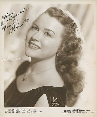 Helen Lee - Inscribed Photograph Signed