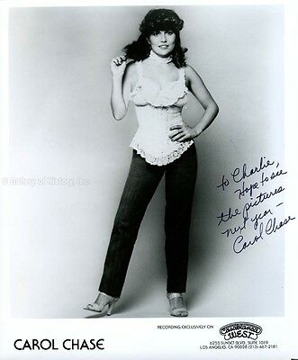 Carol Chase - Inscribed Photograph Signed