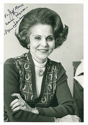 Ann Landers - Inscribed Photograph Signed