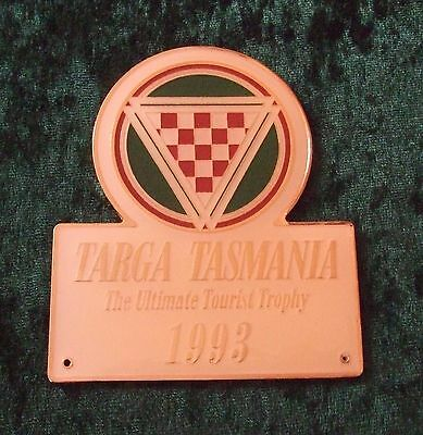 Grille / Car Badge - Targa Tasmania - The Ultimate Tourist Trophy - 1993