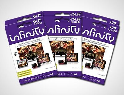 Infinity Pass per 6 MESI coupon  - Codice Digitale VOUCHER
