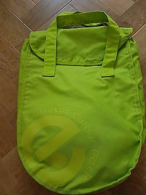 BRAND NEW BabyStyle Oyster Carrycot Colour Pack BRIGHT LIME GREEN COLOUR