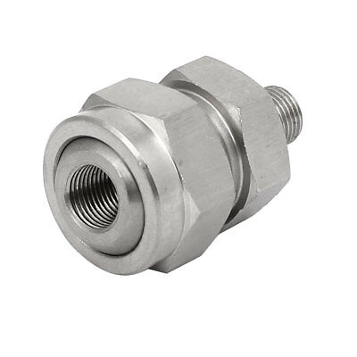 1/8BSP Female Male Thread 304 Stainless Steel Nozzle Adapter Universal Joint