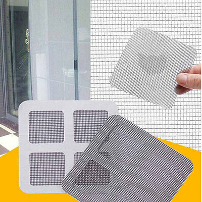 15Pcs Anti-Insect Fly Door Window Mosquito Screen Net Repair Tape Patch Adhesive