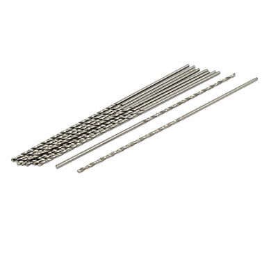 uxcell 10.2mm Dia Split Point Tip 125mm Long High Speed Steel HSS Twist Drill Bit