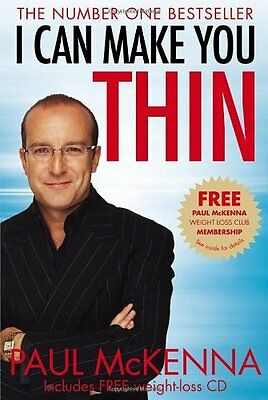 I Can Make You Thin By Paul McKenna. 9780553820584