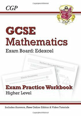 GCSE Maths Edexcel Exam Practice Workbook with Answers & Online Edn: Higher By