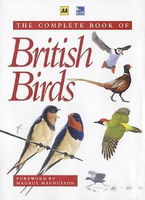 Book of British Birds (AA RSPB) By Royal Society for the Protection of Birds, M