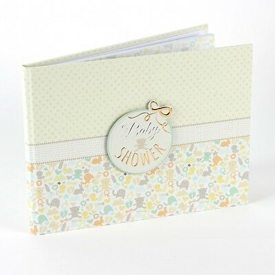 Baby Shower Guest Message Book Keepsake Party Table Decoration Gift