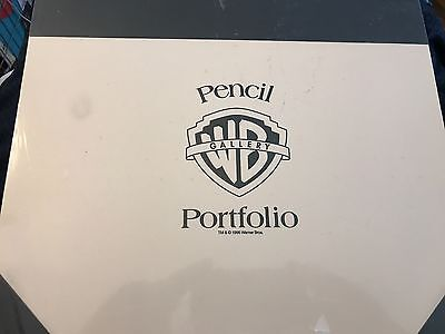 One-Of-A-Kind Warner Brothers Pencil Portfolio Featuring Bugs Bunny and More