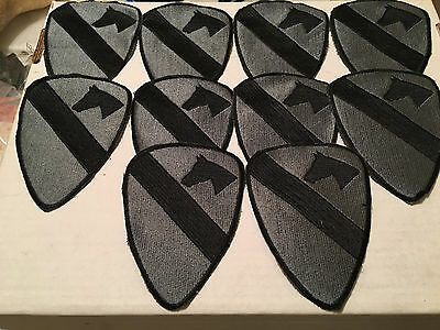 Dealer lot of 10 US Army 1st Cavalry ACU Patches