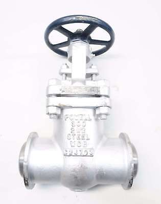 New Powell 3003Ic8Gxxx 2-1/2 In 300 Steel Butt Weld Wedge Gate Valve D567453