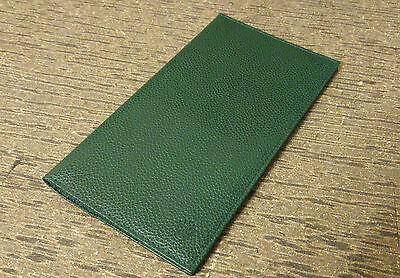 Rolex Geneve Watch Note Pad / Check Book Cover Card Case *PERFECT*