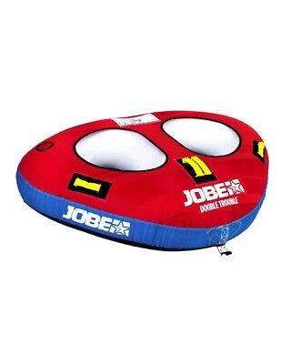 Jobe Double Trouble 2 Person Inflatable Towable Watersports Toy Jetski