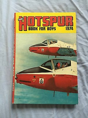 THE HOTSPUR BOOK FOR BOYS 1974 (Excellent condition) ***Unclipped***