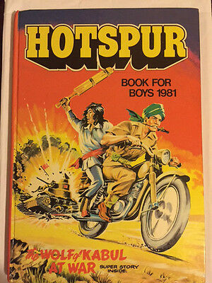 Hotspur Book For Boys Annual (1981) Unclipped  ***mint***