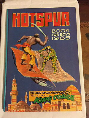 Hotspur Book For Boys Annual (1985) ***excellent Condition***
