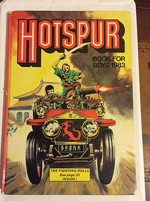 Hotspur Book For Boys Annual (1983) Unclipped