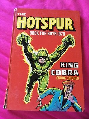 Hotspur Book For Boys Annual (1978) ***unclipped***