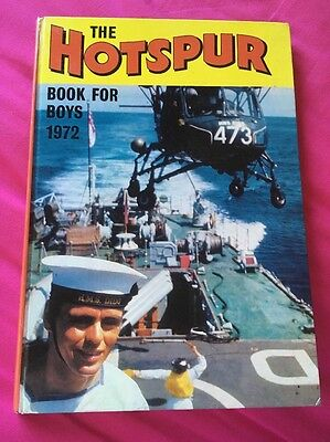 THE HOTSPUR BOOK FOR BOYS 1972 (Excellent condition) ***Unclipped***