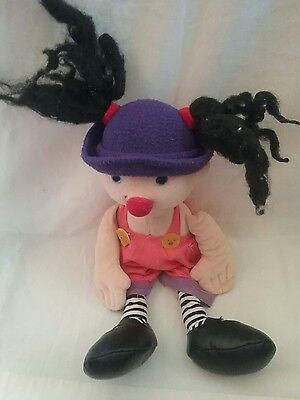L@@k Molly The Big Comfy Couch Doll Vintage  Rag Doll Tv Series Molly Plush